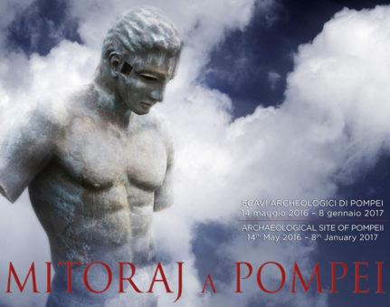 Cover Mitoraj a Pompei
