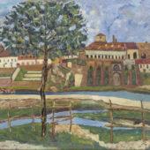 Panorama di Como visto da Villa Molteni