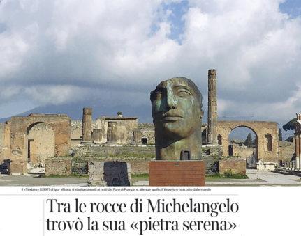 Cover Corriere della sera 13 Maggio