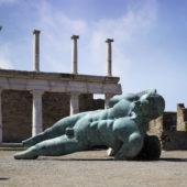 Ikaro blu a Pompei