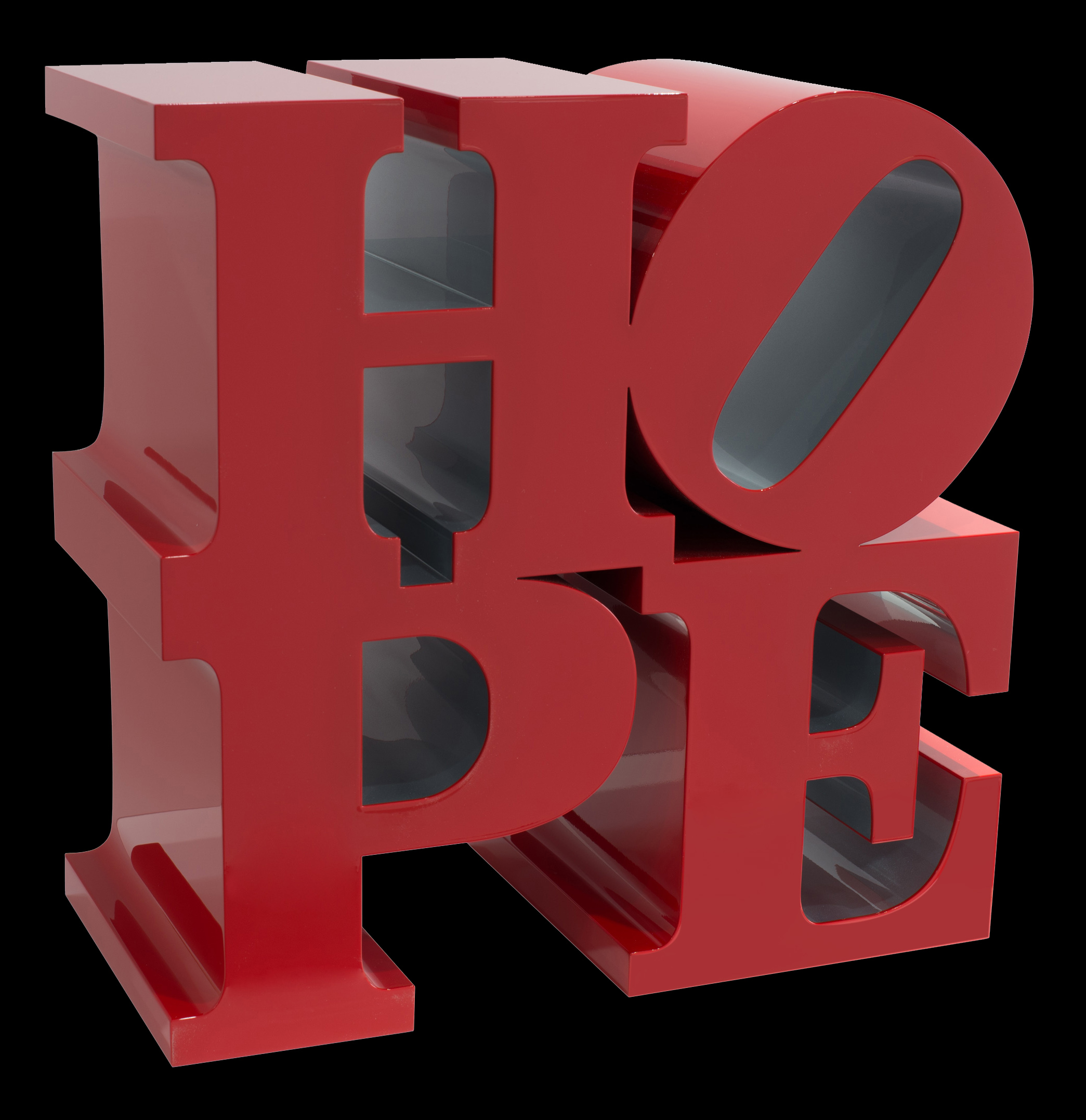 Hope, Red/Silver