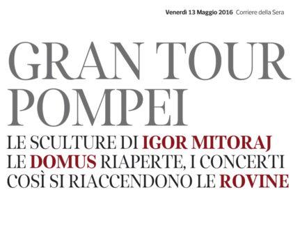 Cover Corriere della sera 13 Maggio #2