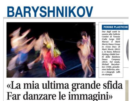 cover Baryshnikov Libero del 15 maggio 2012 p. 29