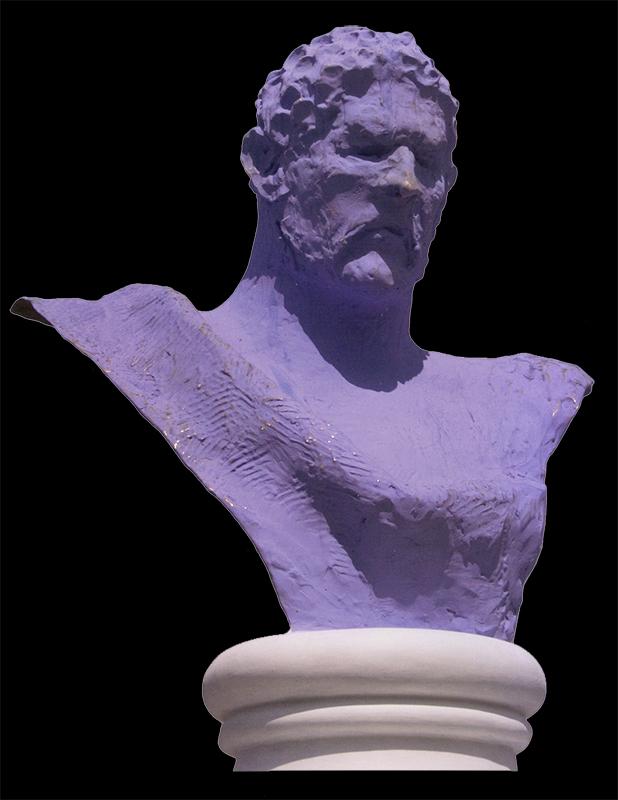 S.P.Q. R. IV, purple patina