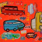 No Cars Orange