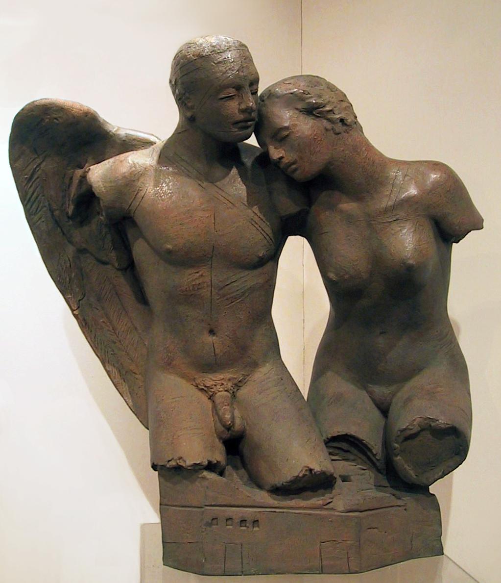 Igor Mitoraj, Bacio dell'Angelo, 2003