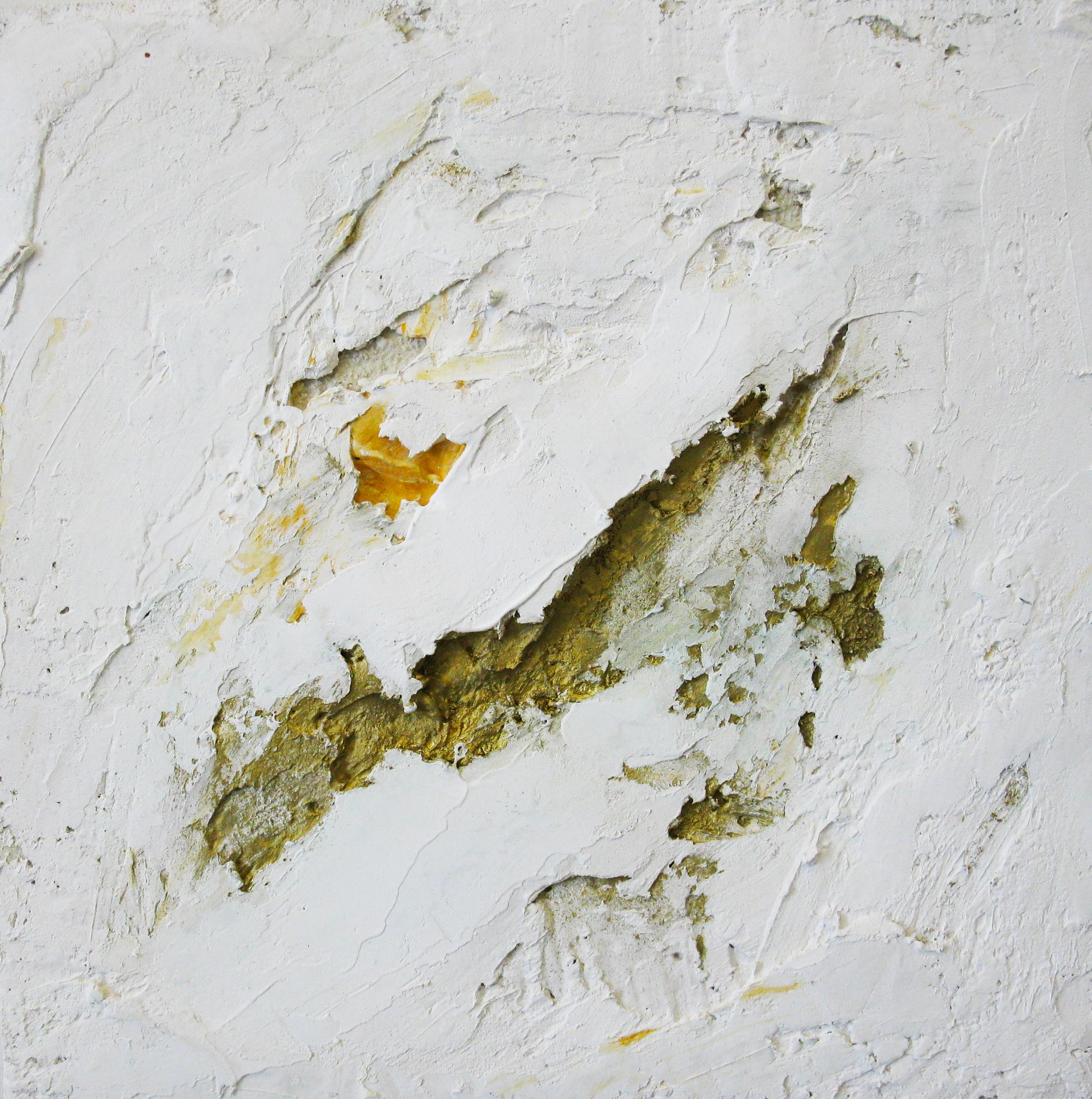 Mario Arlati, Luce, 2007, mixed media on canvas, cm 40x40