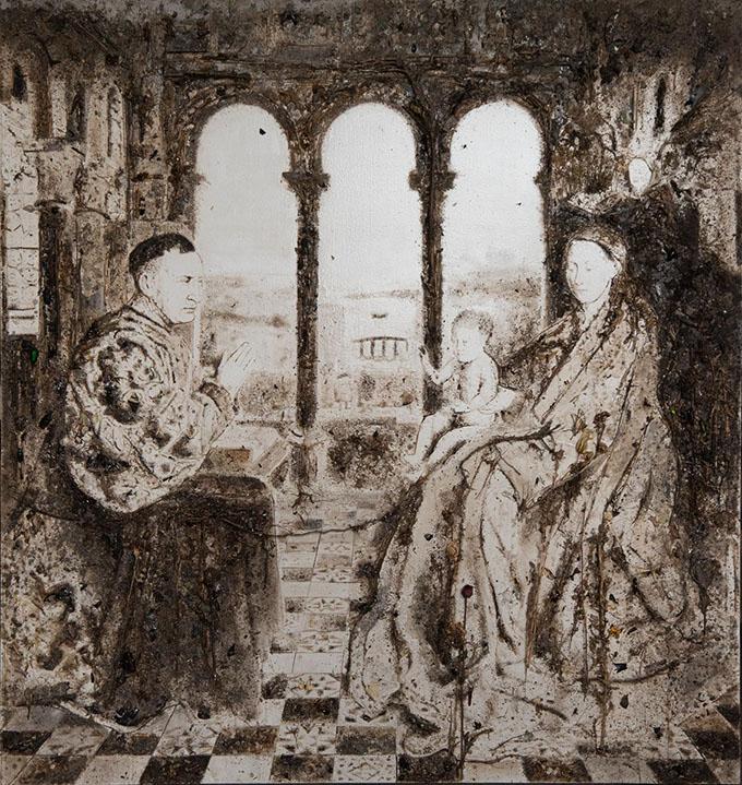 Appropriazione Madonna del cancelliere Rolin